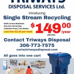 Triways Disposal Single Stream Recycling